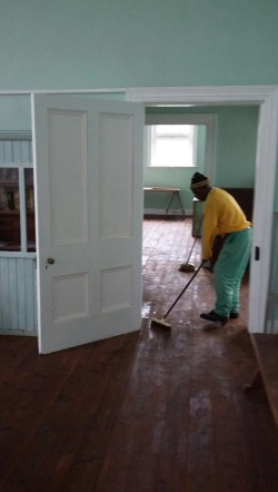 Oiling the Floors