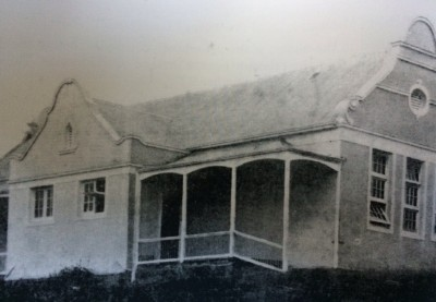 Clumber Public School photographed in 1913