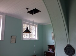 Installing a Light in the School Entrance