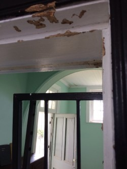 Damage to Door Architraves