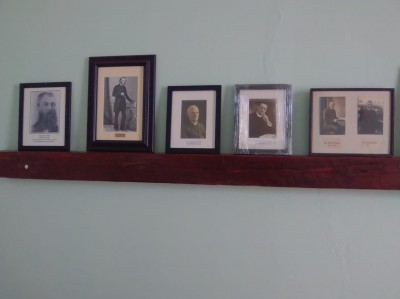 The Picture Shelf in the Vestry